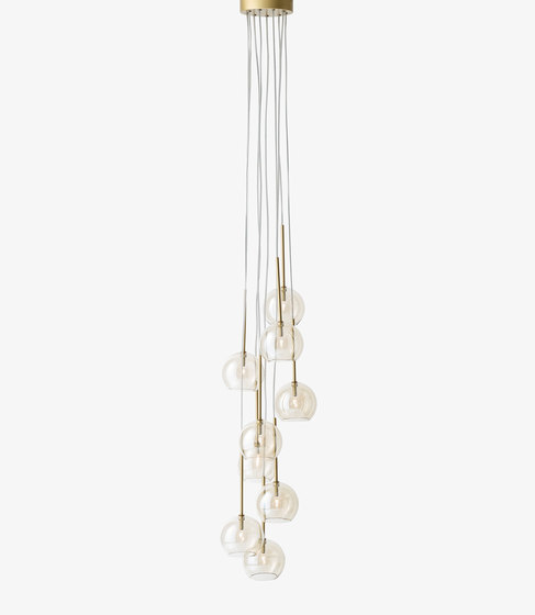 Ice Chandlier SR6 gold by &TRADITION | General lighting