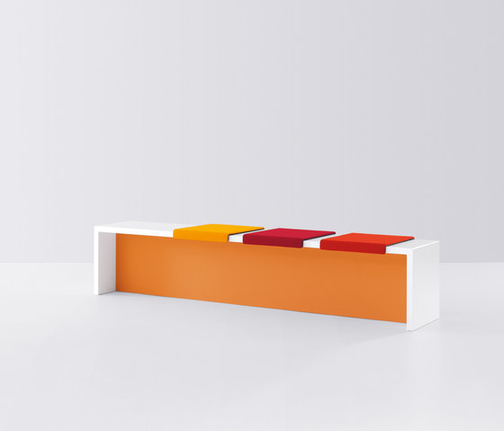k-modul by werner works | Waiting area benches