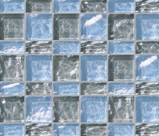 Decor 23x48 | 48x48 Meet Gray Decoro by Mosaico+ | Glass mosaics