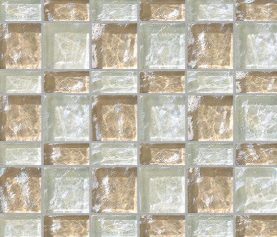 Decor 23x48 | 48x48 Meet White Decoro by Mosaico+ | Glass mosaics