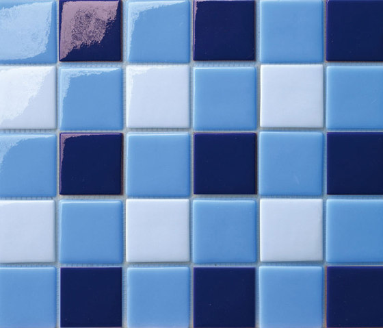 Decor 50x50 Four Lake by Mosaico+ | Glass mosaics