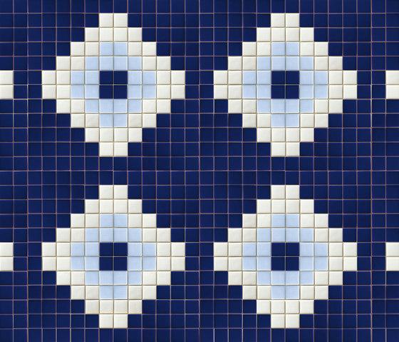 Decor 50x50 Marina by Mosaico+ | Glass mosaics