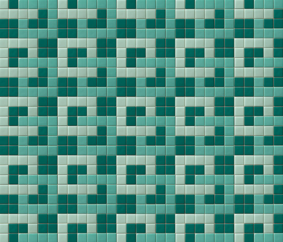 Decor 50x50 Teoria by Mosaico+ | Glass mosaics