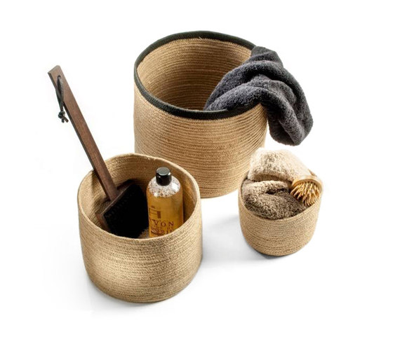 JUTE by DECOR WALTHER | Storage boxes