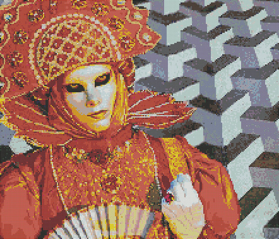 Decor Pannelli Queen of Sun by Mosaico+ | Glass mosaics