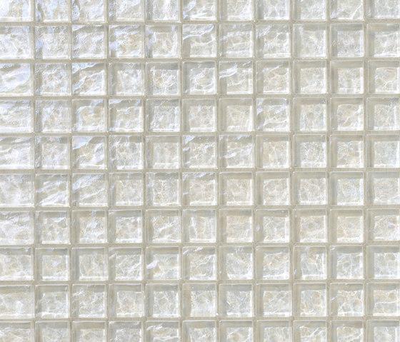 Onde 23x23 Biancopuro de Mosaico+ | Mosaïques