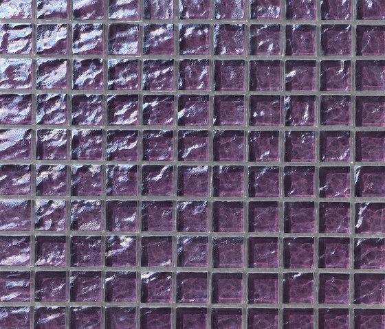 Onde 23x23 Viola de Mosaico+ | Mosaïques