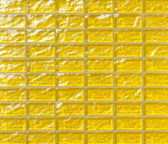 Onde 23x48 Giallo R de Mosaico+   Mosaïques verre