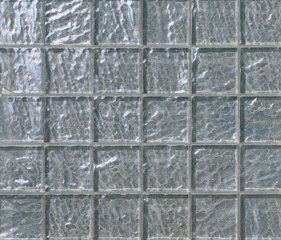 Onde 48x48 Grigio Q de Mosaico+ | Mosaïques