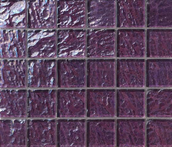 Onde 48x48 Viola Q di Mosaico+   Mosaici vetro
