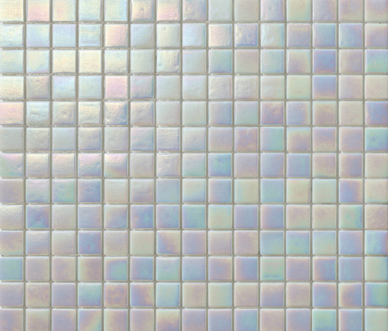 Perle 20x20 Bianco by Mosaico+ | Glass mosaics