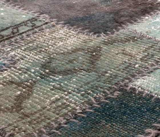 Industrial blue gray by Miinu | Rugs