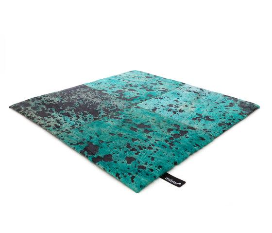 Cuero 20 bright aqua by Miinu | Rugs / Designer rugs