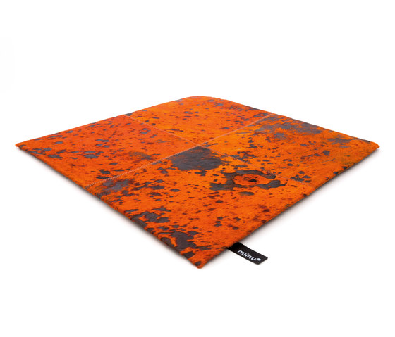 Cuero 20 sun orange de Miinu | Tapis / Tapis design