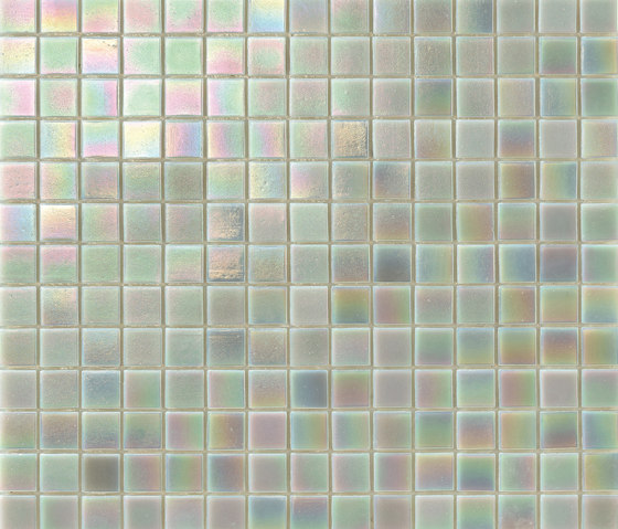 Perle 20x20 Platino by Mosaico+ | Glass mosaics