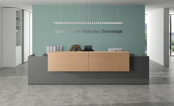 basic C Reception system by werner works | Reception desks