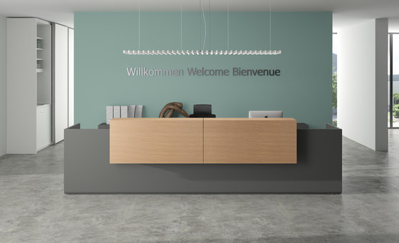 basic C Reception system de werner works | Banques d'accueil