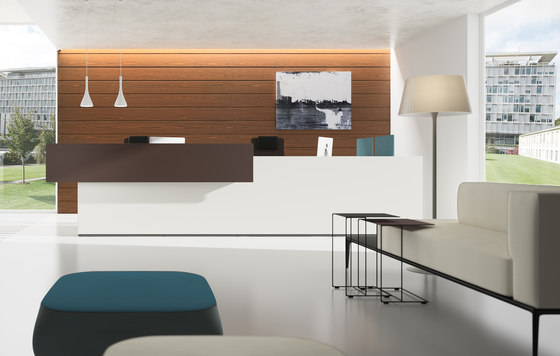 basic C Reception system by werner works | Reception desks