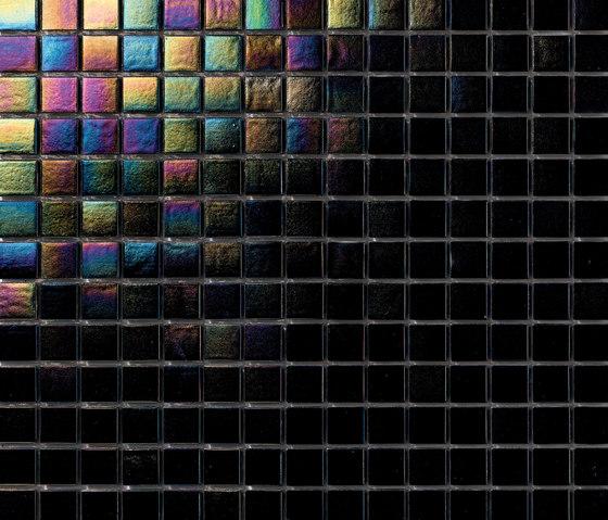Perle 20x20 Nero de Mosaico+ | Mosaïques verre