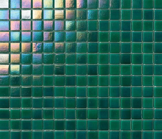 Perle 20x20 Verde Smeraldo by Mosaico+ | Mosaics