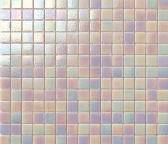 Perle 20x20 Avorio by Mosaico+ | Glass mosaics