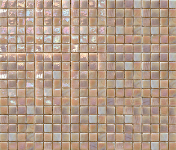 Perle 15x15 Rosa Antico by Mosaico+ | Glass mosaics
