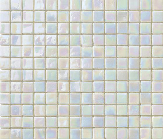 Perle 15x15 Madreperla by Mosaico+ | Glass mosaics
