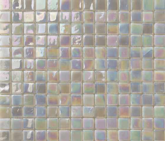 Perle 15x15 Grigio by Mosaico+ | Glass mosaics