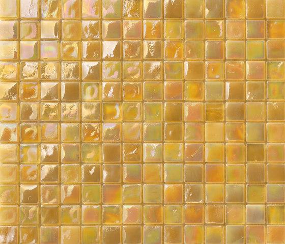 Perle 15x15 Senape by Mosaico+ | Glass mosaics