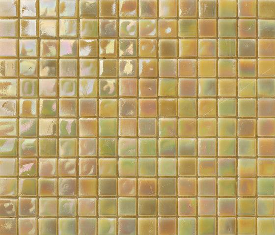 Perle 15x15 Miele di Mosaico+ | Mosaici vetro