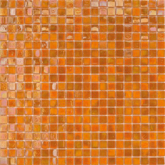 Perle 15x15 Arancio de Mosaico+ | Mosaicos de vidrio