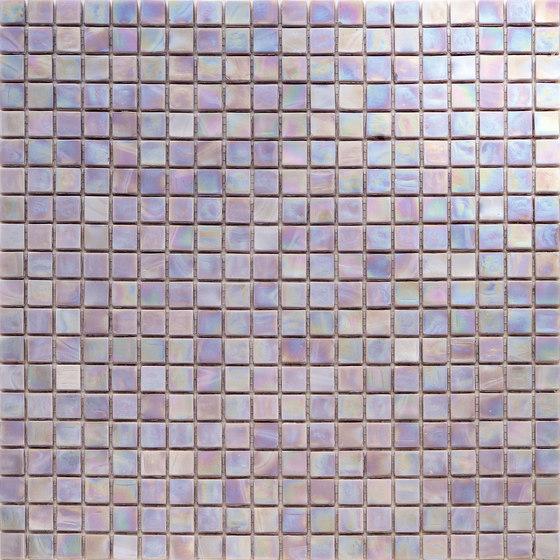 Perle 15x15 Opale by Mosaico+ | Glass mosaics