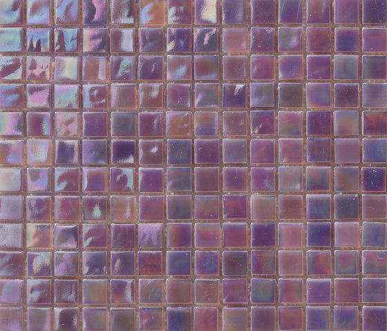 Perle 15x15 Lilla by Mosaico+ | Glass mosaics