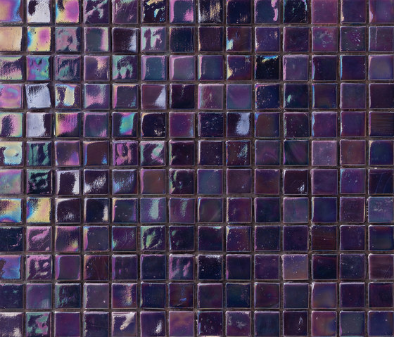 Perle 15x15 Viola di Mosaico+ | Mosaici vetro