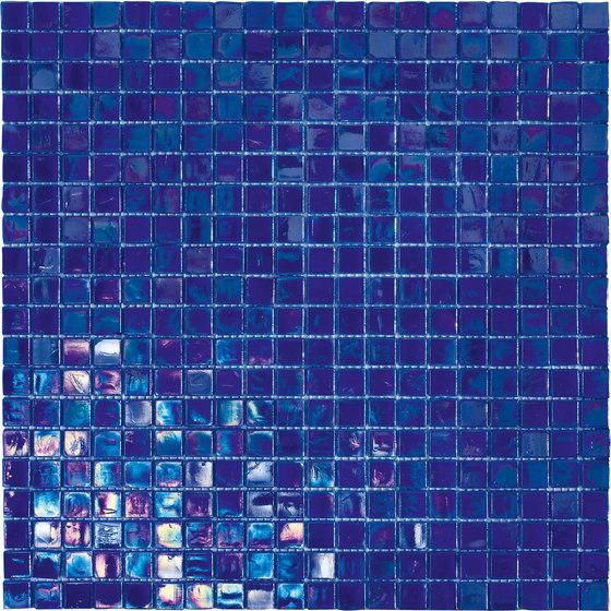 Perle 15x15 Cobalto by Mosaico+ | Glass mosaics