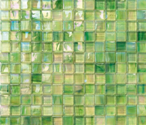 Perle 15x15 Menta by Mosaico+ | Glass mosaics