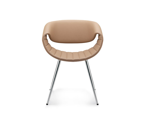 Little Perillo | Public-arena chair by Züco | Visitors chairs / Side chairs