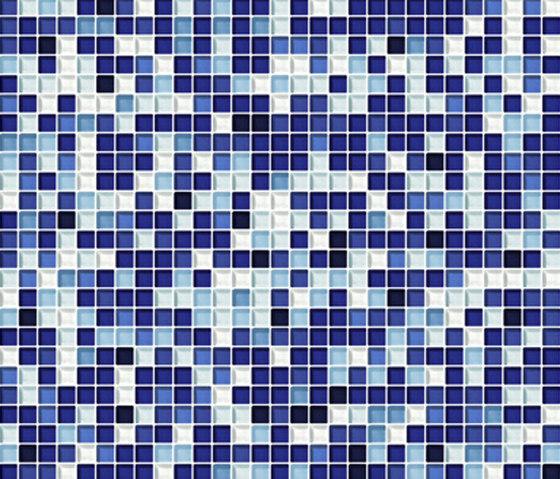 Sfumature 10x10 Zaffiro by Mosaico+ | Glass mosaics