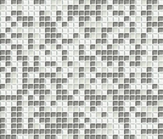 Sfumature 10x10 Biancoargento by Mosaico+   Glass mosaics