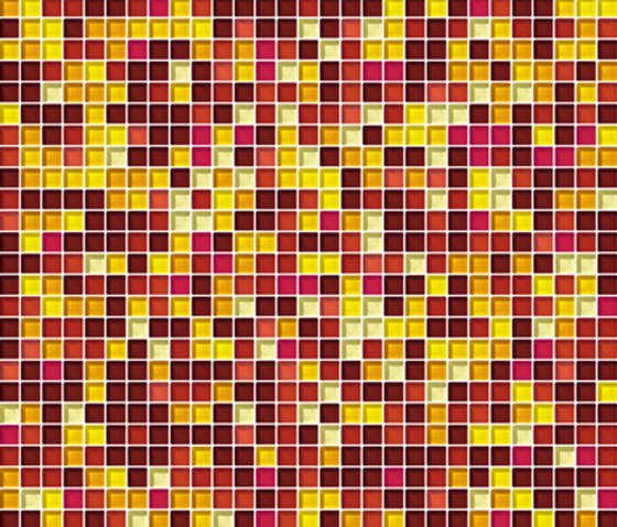 Sfumature 10x10 Sole by Mosaico+ | Glass mosaics