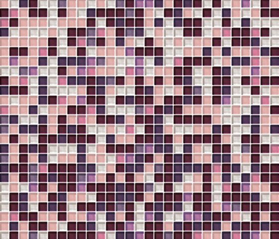 Sfumature 10x10 Porpora by Mosaico+ | Glass mosaics