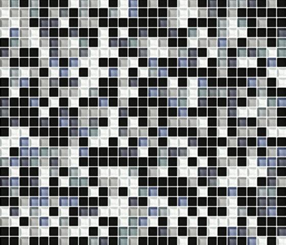 Sfumature 10x10 Acciaio de Mosaico+ | Mosaïques verre