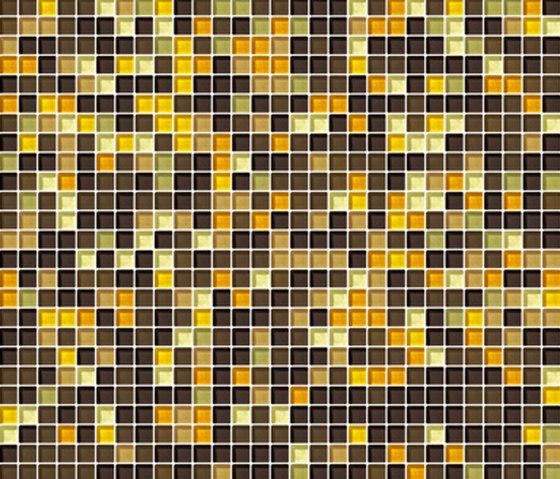 Sfumature 10x10 Ambra by Mosaico+ | Glass mosaics