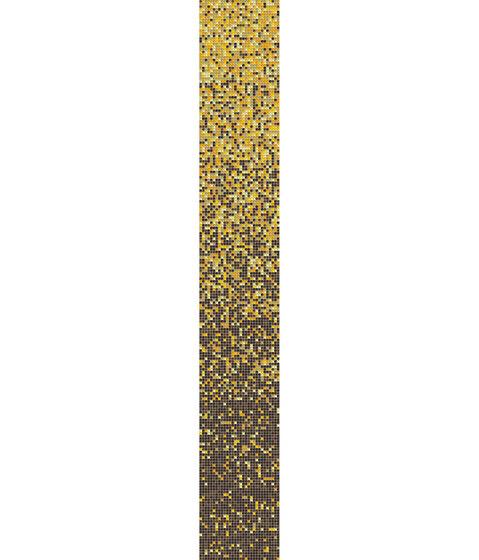 Sfumature 10x10 Ambra de Mosaico+ | Mosaïques verre