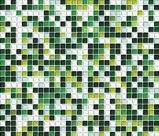 Sfumature 10x10 Muschio de Mosaico+ | Mosaïques verre