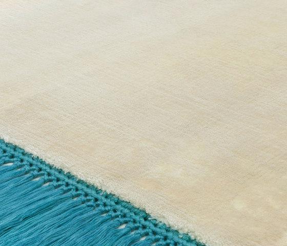 Revolution F pearlwhite peacockblue by Miinu | Rugs / Designer rugs