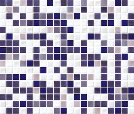 Sfumature 15x15 Malva by Mosaico+ | Glass mosaics