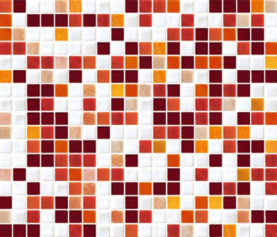 Sfumature 15x15 Zenzero de Mosaico+ | Mosaïques verre
