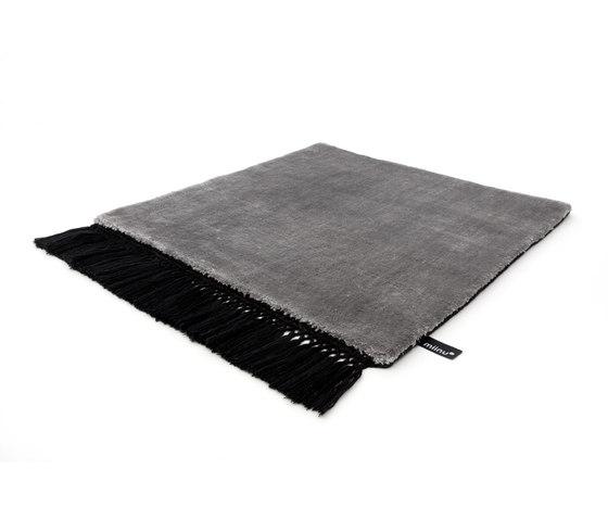 Revolution F silvercloud pureblack by Miinu | Rugs / Designer rugs