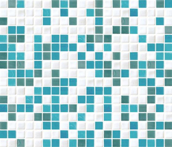 Sfumature 15x15 Aria by Mosaico+ | Glass mosaics